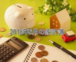 家計簿公開!アラフォー独女一人暮らしのお金【2018年6月】