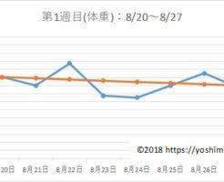 アラフォー38歳のダイエットブログPart2☆7月で-7kg!【第1週目】