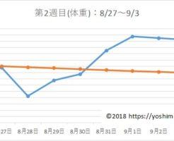 アラフォー38歳のダイエットブログPart2☆7月で-7kg!【第2週目】